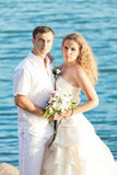 Tropical wedding Stock Photography