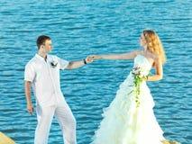Tropical wedding Royalty Free Stock Image