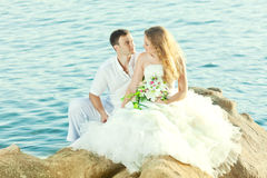 Tropical wedding Royalty Free Stock Photos