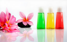 Tropical wellness spa & aromatherapy Royalty Free Stock Image