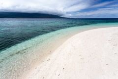Tropical white beach Royalty Free Stock Photography