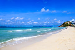 Free Tropical White Sand Beach Royalty Free Stock Photography - 35010457