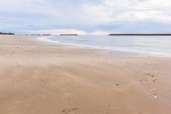Tropical white sand beach Stock Image