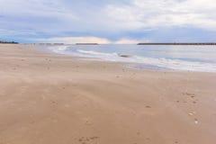 Tropical white sand beach Stock Photography
