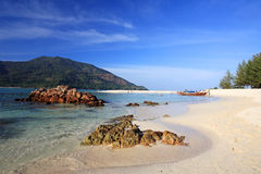 Tropical white sand beach at Koh Lipe Royalty Free Stock Image