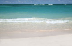 Tropical - White Sand Beach and Ocean Royalty Free Stock Photography