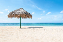 Tropical White Sand Beach Resort Royalty Free Stock Image