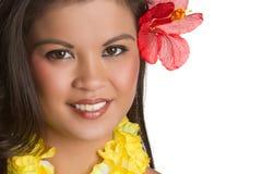 Tropical Woman Royalty Free Stock Photos