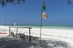 Tropical Zanzibar beach Stock Photography