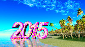 2015 tropicale Fotografie Stock