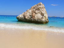 Tropicale-come la spiaggia in Sardegna, l'Italia Fotografia Stock Libera da Diritti