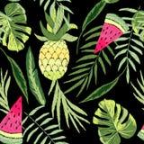 Tropicale ricamato illustrazione vettoriale