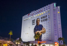 Tropicana旅馆在拉斯维加斯 免版税图库摄影