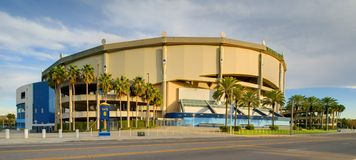 Tropicana Field royalty free stock images