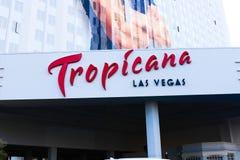 The Tropicana hotel and casino Royalty Free Stock Photo