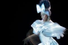 Tropicana Showgirl Royalty-vrije Stock Foto's