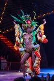 Tropicana showgirl Stock Afbeelding