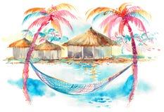 Tropici illustrazione vettoriale
