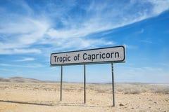 Tropico del capricorn Immagini Stock