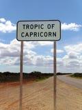 Tropico del Capricorn Immagini Stock Libere da Diritti