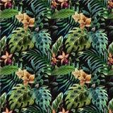 Tropicpattern4 Royaltyfri Fotografi