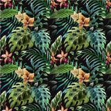 Tropicpattern4 Royalty Free Stock Photography