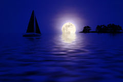 tropics ночи стоковое фото