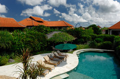 Tropics Villas Stock Photography