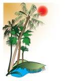 tropików Obraz Stock