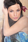 tropikalna środowisko kobieta Fotografia Royalty Free