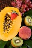 tropikalna świeża owoc Zdjęcia Royalty Free