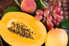 tropikalna świeża owoc Obrazy Royalty Free