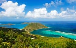 Tropikalna brzegowa antena zdjęcia stock