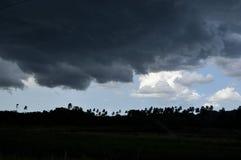 tropikalna burza Zdjęcia Royalty Free