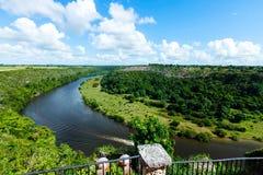 tropikalna chavon rzeka Obraz Royalty Free