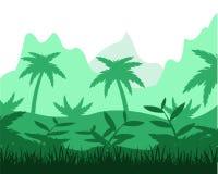 Tropikalna dżungla Obraz Stock