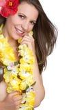 tropikalna kobieta Obrazy Royalty Free