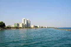 Tropikalna miasto plaża Obraz Royalty Free