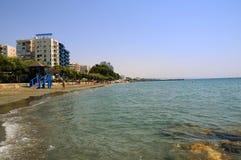 Tropikalna miasto plaża Fotografia Royalty Free
