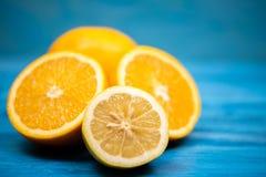 Tropikalna naturalna pomarańczowa owoc fotografia stock