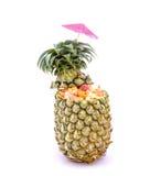 tropikalna owocowa sałatka Fotografia Royalty Free