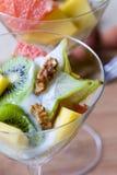 tropikalna owocowa sałatka Obraz Stock
