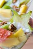 tropikalna owocowa sałatka Obraz Royalty Free