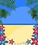 Tropikalna plaża zdjęcia stock