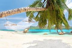 Tropikalna plaża Obrazy Stock