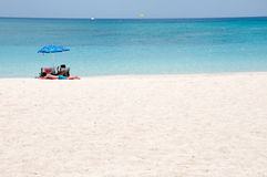 Tropikalna plaża Obraz Stock