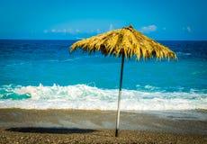 Tropikalna plaża Zdjęcia Royalty Free