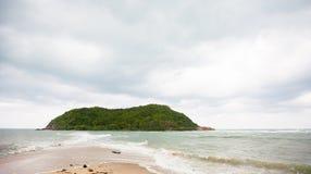 Tropikalna plaża na Ko Ma Zdjęcia Royalty Free