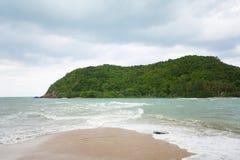 Tropikalna plaża na Ko Ma Zdjęcia Stock