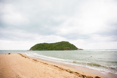 Tropikalna plaża na Ko Ma Obraz Stock